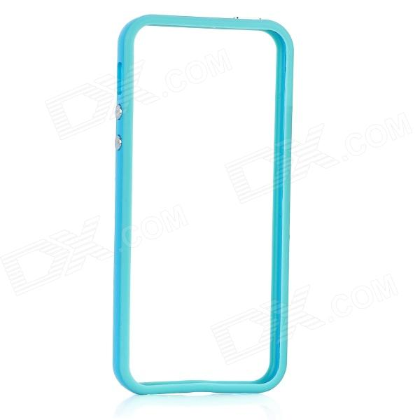 Protective Bumper Frame for Iphone 5 - Light Blue