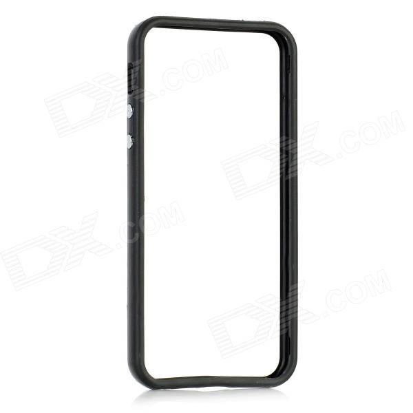 Protective ABS Frame Case for Iphone 5 - Black