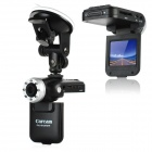 "Carcam K8000 2.0"" TFT LCD 5.0MP CMOS Wide Angle Digital Car DVR Camcorder with 8-LED IR Light"
