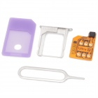 SIM Card Unlock Attachment w/ Tray for iPhone 4S iOS 5.1.1 / 5.1 / 5.0.1 / 5.0