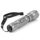 Aluminum Alloy Flashlight Housing Casing for UltraFire WF-501B - Grey
