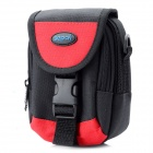 Genuine Sepai B605RD Multifunction Universal Nylon Waist Bag for Camera / Cell Phone - Black + Red