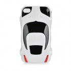 Sports Car Style Protective Case für iPhone 4 / 4S - Weiss