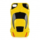 Sports Car Style Protective Case für iPhone 4 / 4S - Yellow