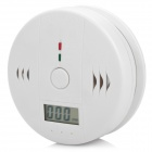 "1.2"" LCD Display Carbon Monoxide Sensor Alarm - White (3 x AA)"