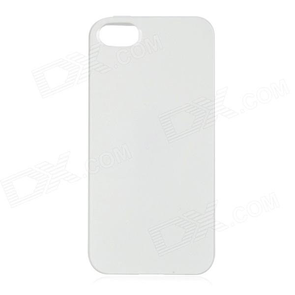 Protective TPU Back Case for Iphone 5 - White цена 2017