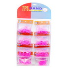 Pink TPU Bands (8 Packs of 30)