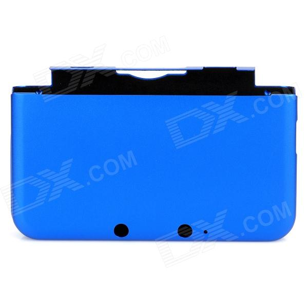 Protective Aluminum Full Protection Case for Nintendo 3DS LL - Dark Blue
