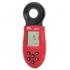 "HS1010 1,8 ""LCD-Beleuchtung Helligkeit Licht Tester - Red + Black (2 x AAA)"