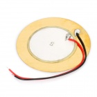 SY-35T2A1 35 milímetros Piezo transdutor de som do disco w / Leads - Golden