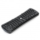 LX-088 2.4GHz Wireless Air Mouse + 75-Key Keyboard - Black (3 x AAA)