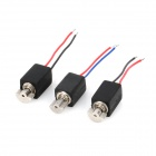Mini Electric Motors Set - Black (3 PCS)