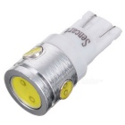 T10 5W 400lm 4-LED White Light Car Indicator Lamp