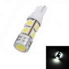 T10 4.5W 350lm 9x5050 SMD LED White Light Car Clearance / Dome / Dashboard Lamp