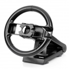 Multi Axis Racing Wheel w/ Suction Mount for Nintendo Wii - Black