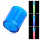 01-A8 Mini Glow LED Water Temperature Shower Faucet Light - Blue