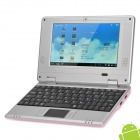 "703A 7.0"" LCD Android 4.1 Netbook w/ Wi-Fi, Camera, LAN, HDMI - Pink"