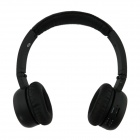 QC-18 USB Folding Wireless Headset w/ TF / FM - Black (3.5mm Jack)