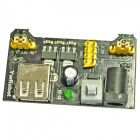 3.3V / 5V Power Supply Module for MB102 Breadboard - Black