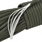 7-Core Survival Parachute Cord Paracord - Army Green (30m / 140kg Max. Tensile)