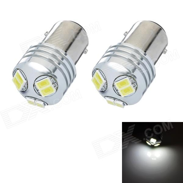 1157 3W 6-SMD 5630 LED White Light Car Brake / Tail Light Bulb (DC 12~24V / Pair) цена