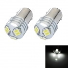 1157 3W 200lm 6-SMD 5630 LED Cool White Car Brake / Tail Lamp (2 PCS / 12~24V)