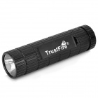TrustFire Cree XP-E R2 200lm 1-Mode White Flashlight w/ 4400mAh Emergency Battery Pack - Black