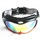 Fashion Outdoor Safety Eye Protection Goggles - Black Frame