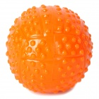 Fun Pet Dog Ball Toy - Orange