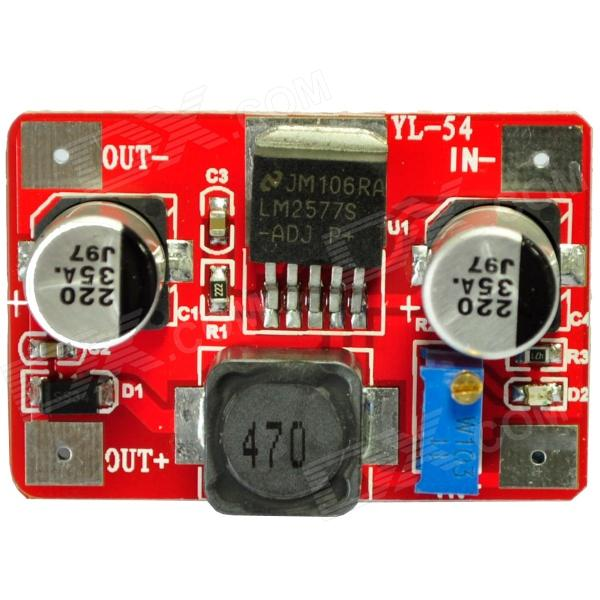 LM2577 DC 3.5~18V to DC 4.0~24V Voltage Step Up Boost Module - Red набор bosch ножовка gsa 18v 32 0 601 6a8 102 адаптер gaa 18v 24