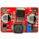 LM2577 DC 3.5~18V to DC 4.0~24V Voltage Step Up Boost Module - Red