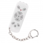 Ultra-Fast Auto Code Search Universal Mini TV Remote Keychain with LED Flashlight