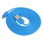 USB Male to Micro USB Male Charging / Data Cable for Cell Phone + More - Blue (200cm)
