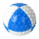 Fun Pet Dog Ball Toy - Blue + White