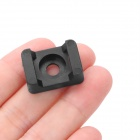 Cable Cable Tie montaje fijo - Negro (100 PCS)