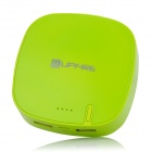 Upfire Rechargeable 6000mAh Mobile External Power Battery Charger for Cell Phone + More - Green