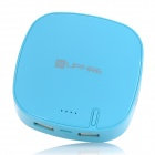 UpFire Rechargeable 6000mAh Mobile External Power Battery Charger for Cell Phone + More - Blue