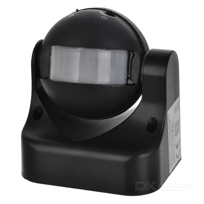 все цены на Motion Activated PIR Light Detector Sensor Switch - Black