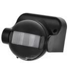 Motion Activated PIR Light Detector Sensor Switch - Black