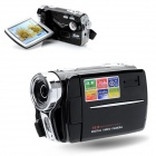 "V8 5.0MP CMOS Digital Camera Camcorder w/ 3.0"" TFT / 8X Digital Zoom - Black"