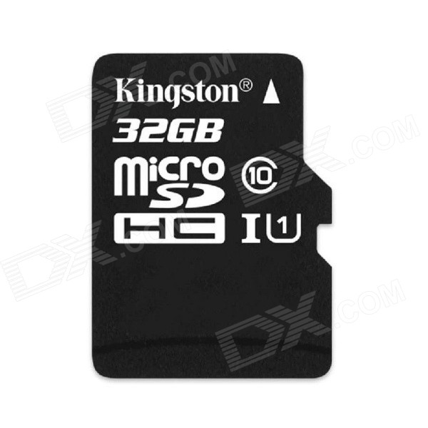 Genuine Kingston  Micro SDHC TF Card - Black (32GB / Class 10) genuine kingston micro sdhc tf card black 32gb class 10