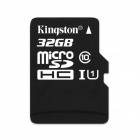 Genuine Kingston  Micro SDHC TF Card - Black (32GB / Class 10)