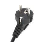 Universal EU Plug AC Power Cable for PC / Laptop - Black (1.8m)