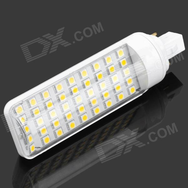 G24 9W 3500K 675lm 45-LED Warm White Light Bulb - White (AC 85~265V)