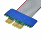PCI-E 1X to 36-Pin Riser Card Ribbon Cable for 1U / 2U - Grey