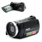 "HD-J70 5.0MP CMOS Digital Camera Camcorder w/ 3.0"" TFT / 8X Digital Zoom - Black"