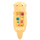 Cute Bear Stil Infant Wasser-Thermometer - Yellow