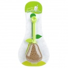 Pear Style Silicone Tea Bag - Brown