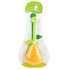Pear Style Silicone Tea Bag - Orange