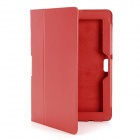 "Protective PU Leather Case for 10.1"" ASUS Transformer Pad TF700T / TF700 - Red"